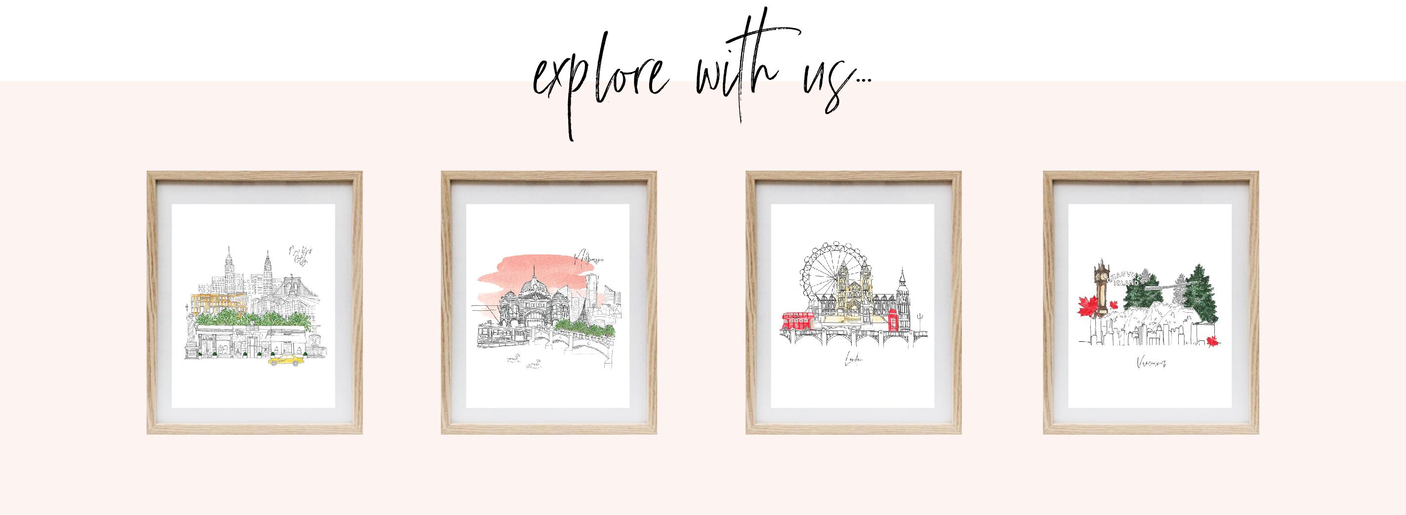 Ellen Walsh Designs City artwork