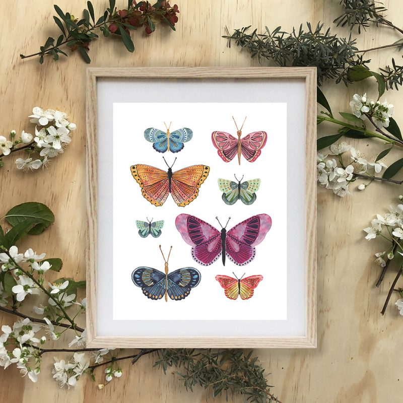 Ellen Walsh Designs - Art Print