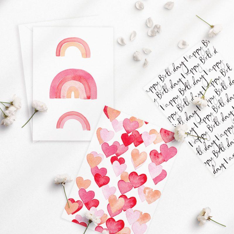 Ellen Walsh Designs - Watercolour greeting cards